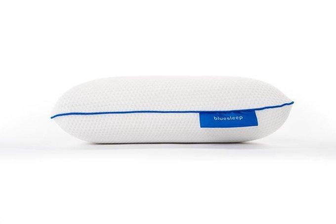 Анатомическая подушка белого цвета