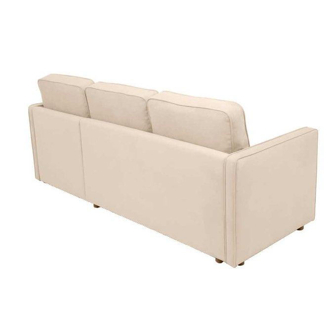 Диван-кровать угловой Лорен бежевого цвета