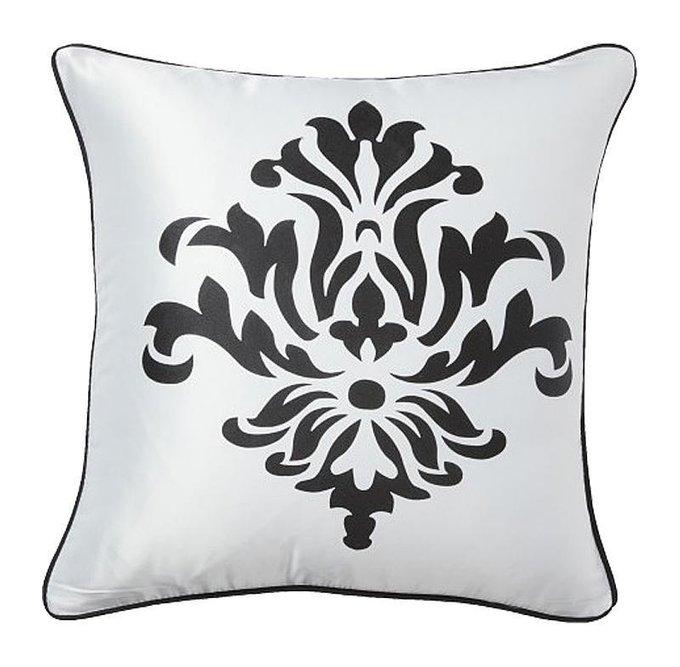 Подушка с принтом Fleur de Lys II