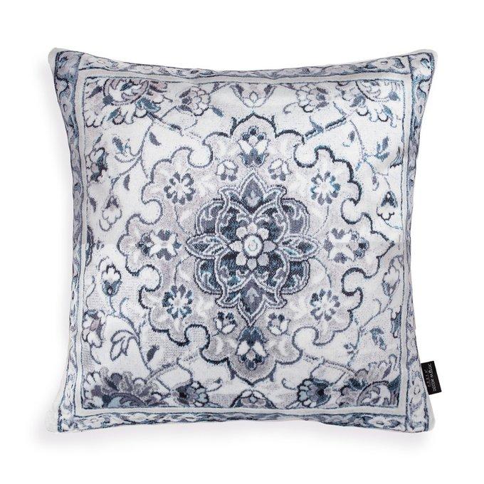 Декоративная подушка Valetta серого цвета