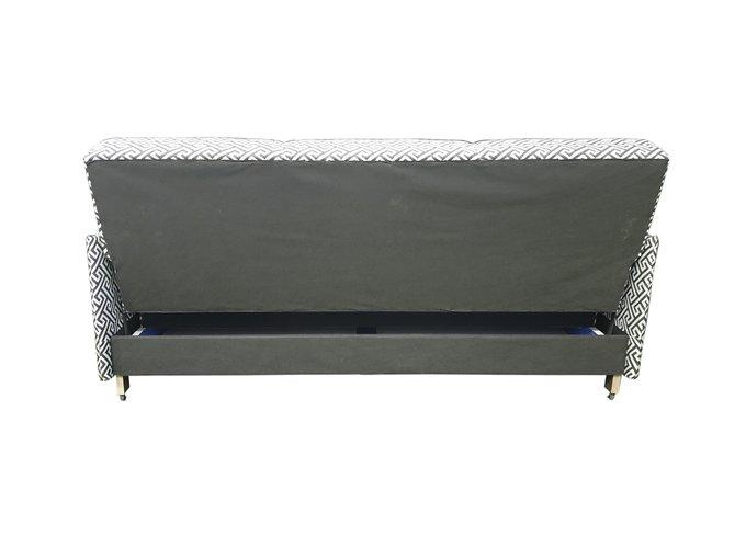 Диван-кровать Scandi черно-бежевого цвета