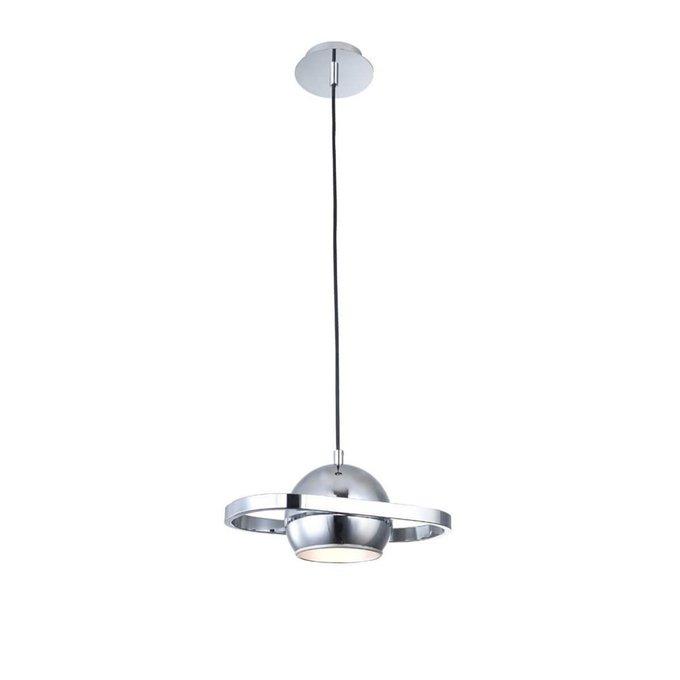 Подвесной светильник Helixиз металла цвета хром