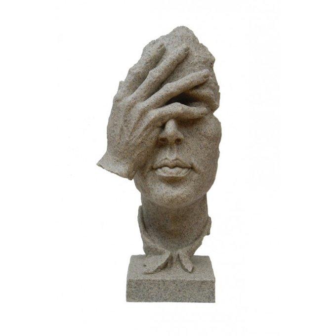 Статуэтка рука на лице