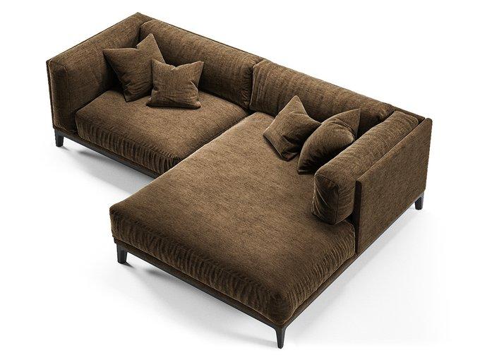 Диван Case коричневого цвета