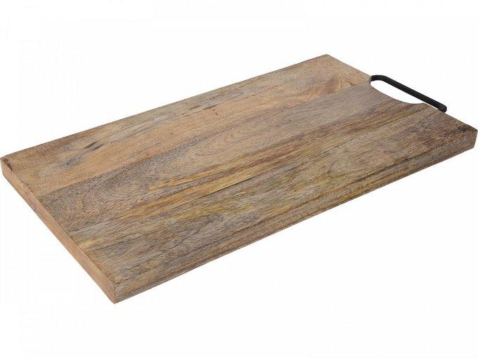 Доска разделочная Mango Wood с металлической ручкой