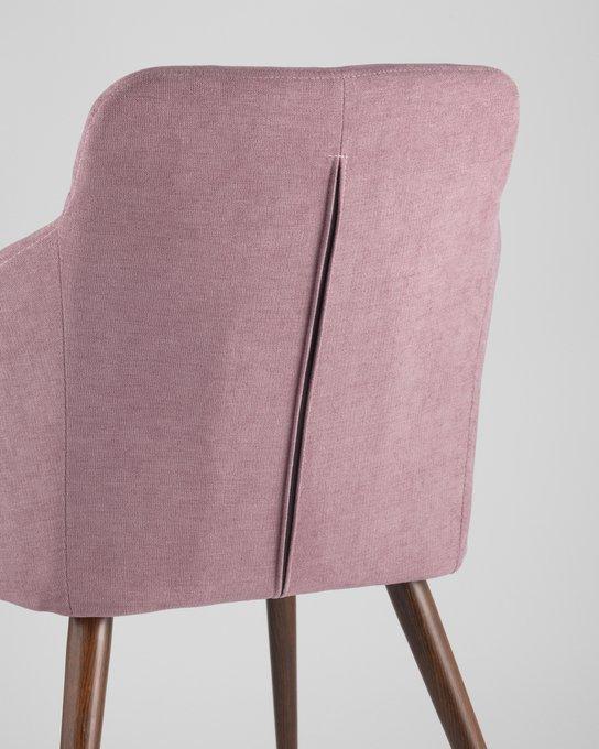 Стул Квини розового цвета