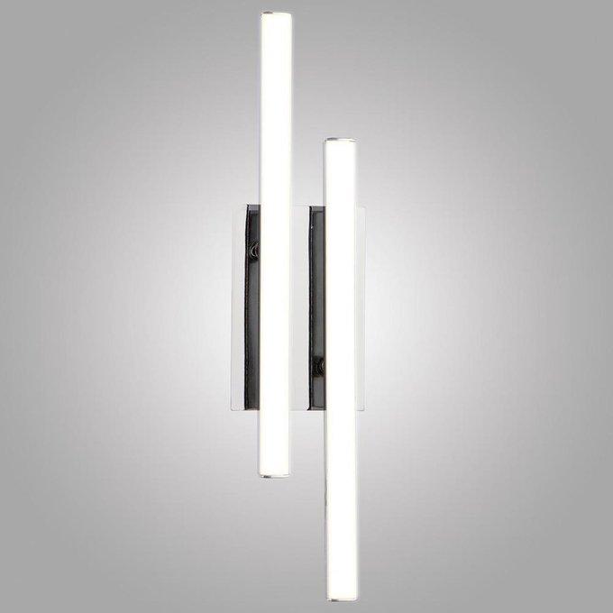 Настенный светодиодный светильник Хай-Тек из пластика и металла