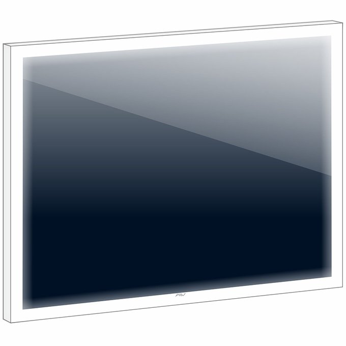 Зеркало с подсветкой Bella-35 90