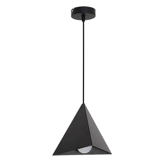 Подвесной светильник Set черного цвета