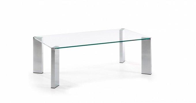 Журнальный стол Corner со стеклянной столешницей