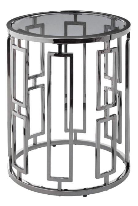 Приставной столик Terni Accent со стеклянной столешницей