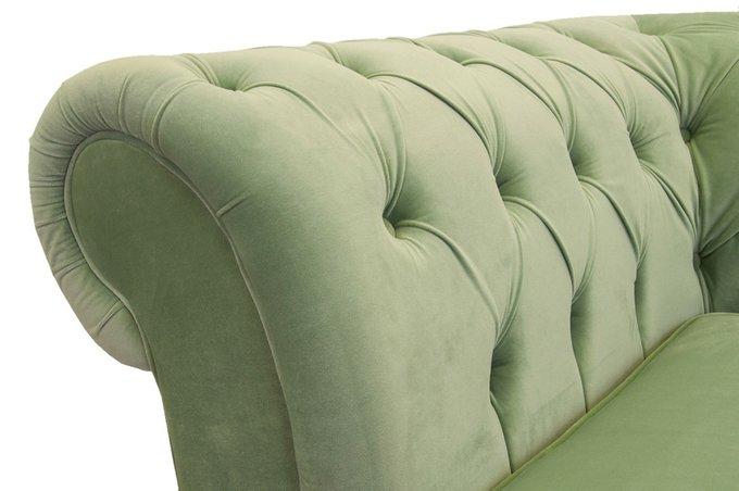 Диван Odis зеленого цвета