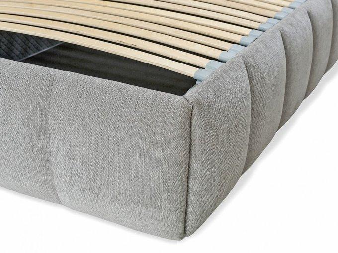 Кровать Venture Flow серого цвета 200х200