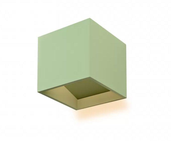 Настенный светильник Dice зеленого цвета