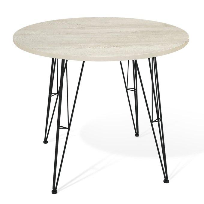 Стол обеденный Dinos цвета беленый дуб