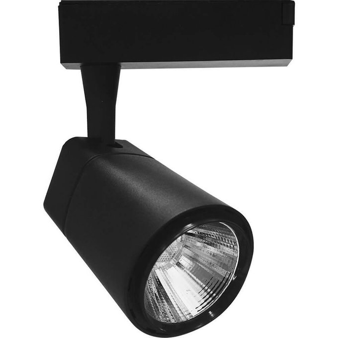Трековый светодиодный светильник из металла и пластика