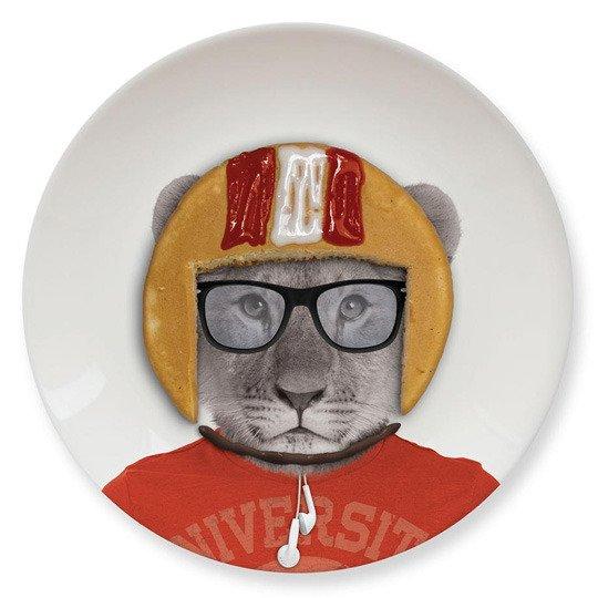 Тарелка 'Baby' (разные дизайны) / Lion