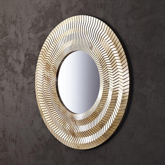 Зеркало Millennium Gold в золотой раме