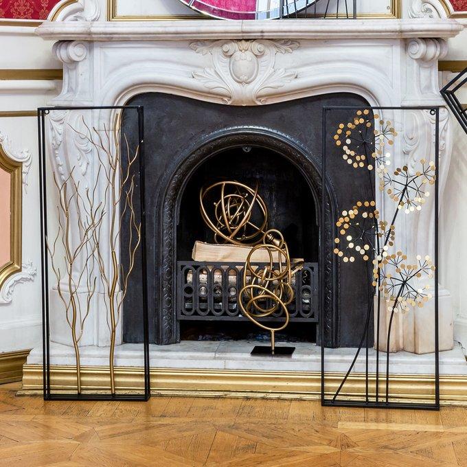 Настольный декор Альфавиль золотого цвета