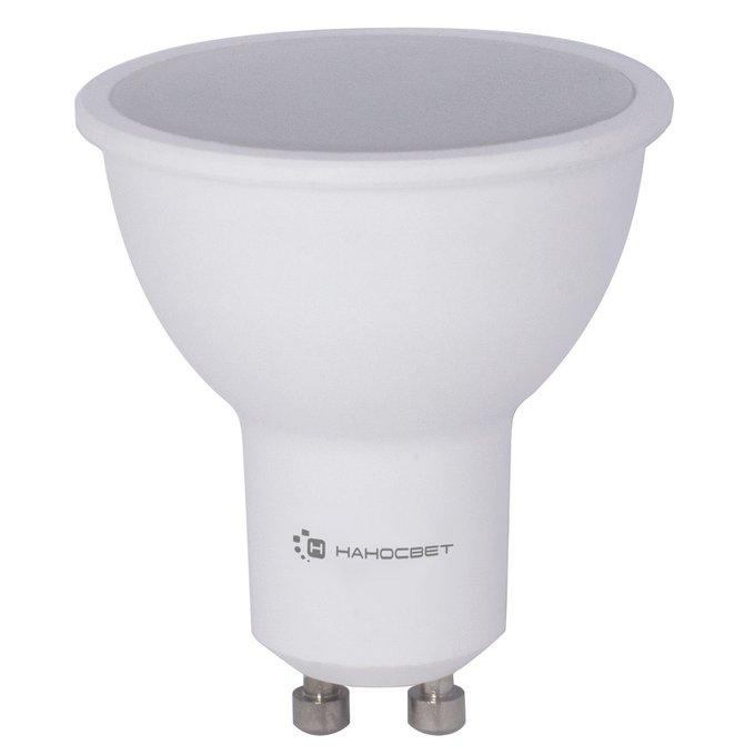 Лампа светодиодная полусфера белого цвета