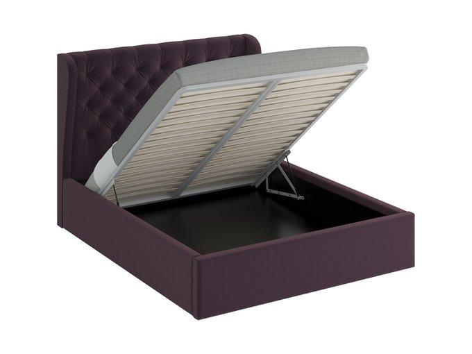 Кровать Jazz Lift фиолетового цвета 180х200