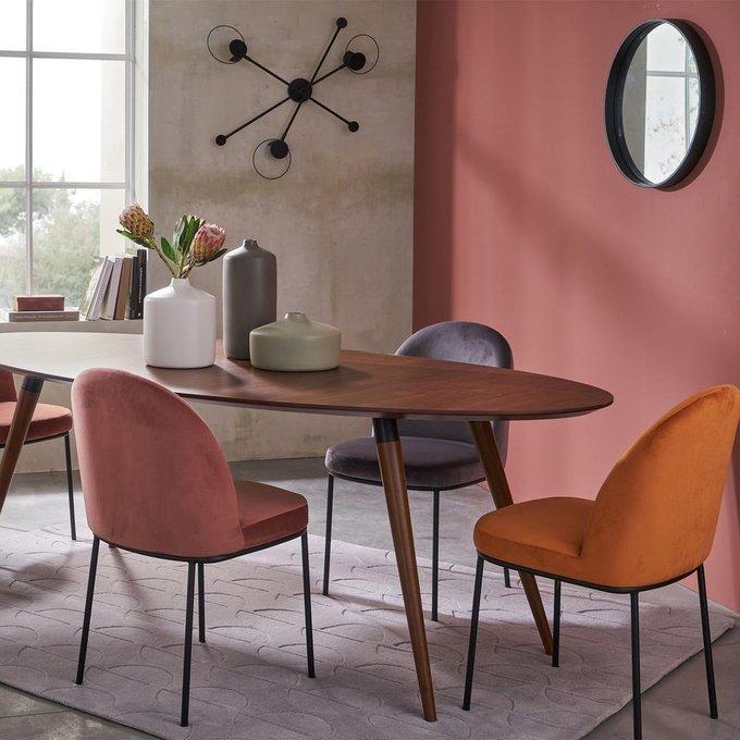 Комплект из двух стульев Topim розового цвета