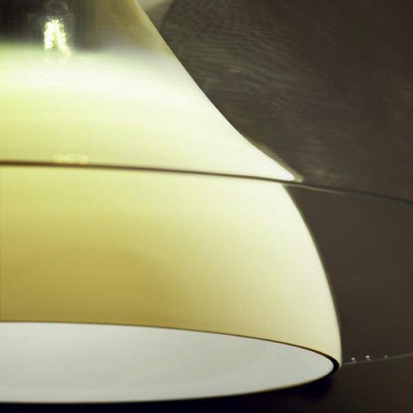 Подвесной светильник Vistosi ALMA с плафоном из стекла белого цвета