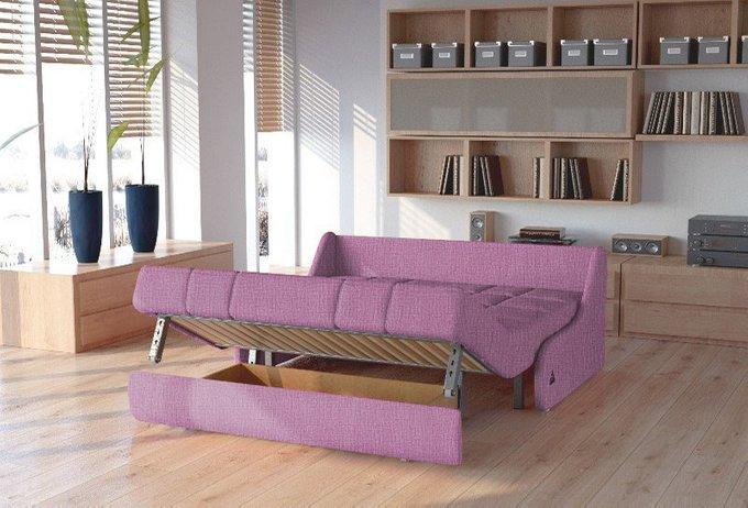 Диван-кровать Шарлот S темно-розового цвета