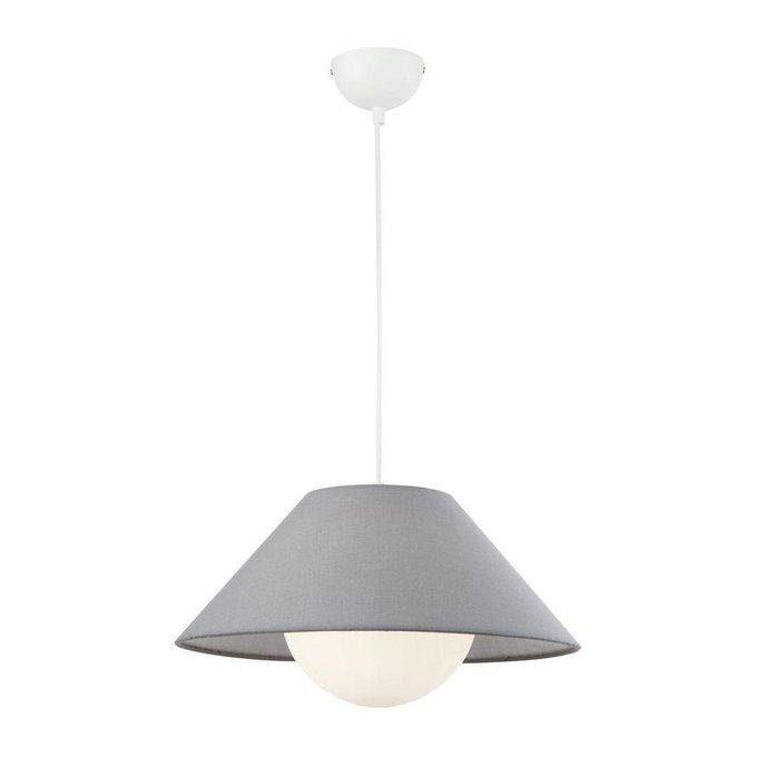 Подвесной светильник Zara бело-серого цвета
