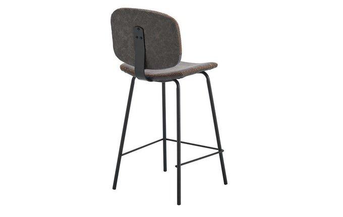 Полубарный стул серого цвета