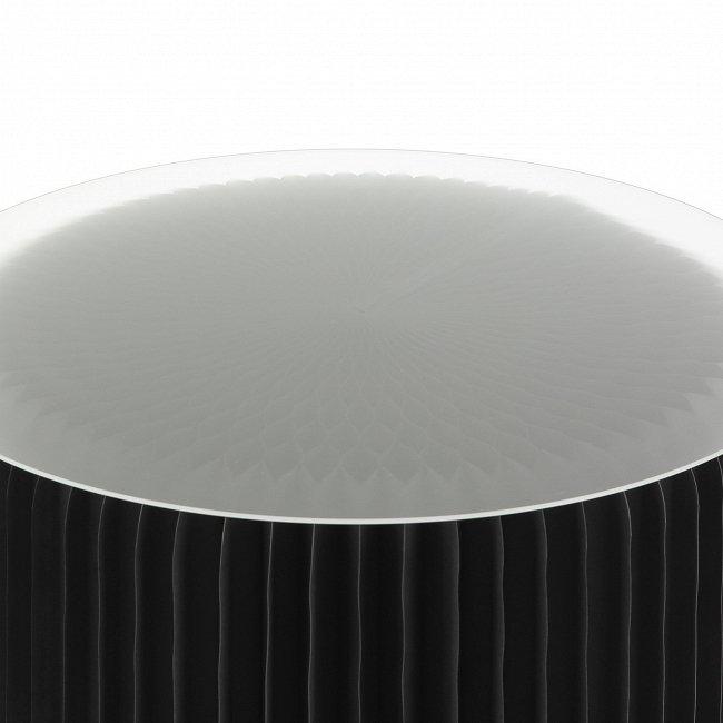 Стол бумажный со столешницей из акрила