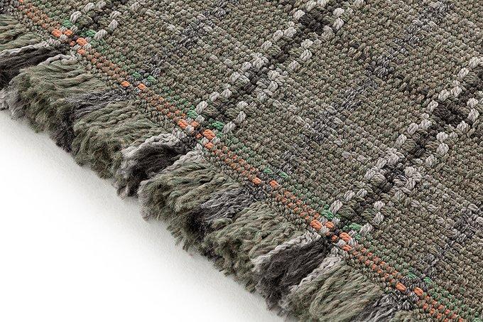 Двухспальный матрац Diagonal Tartan green 140х160