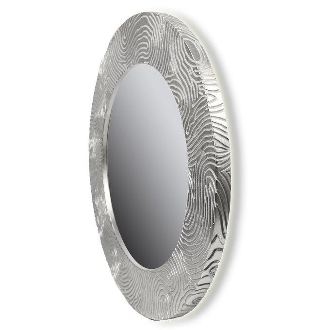 Настенное зеркало FASHION MARK silver