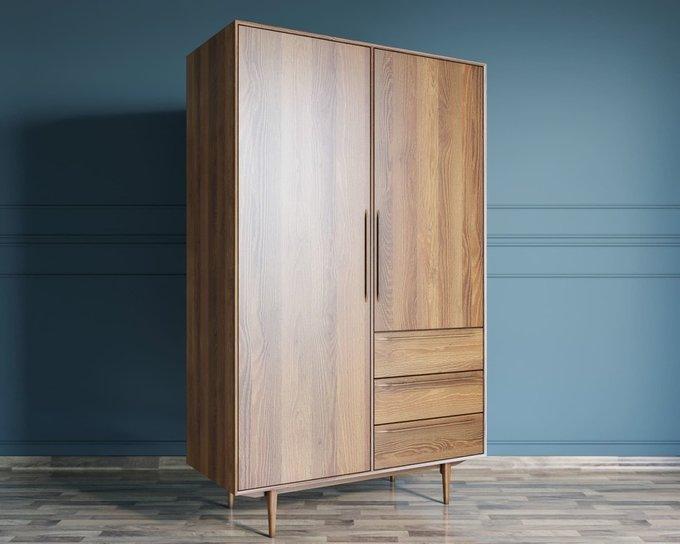 Шкаф двустворчатый Bruni с двумя ящиками