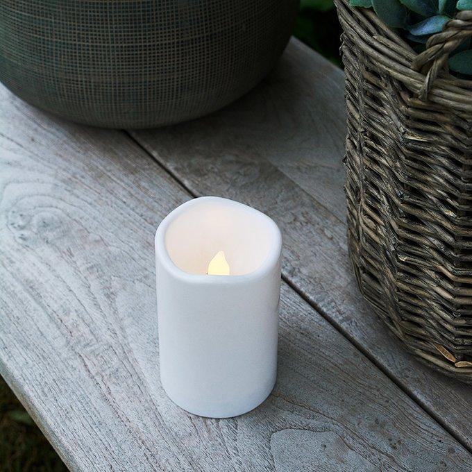 Светодиодная свеча Storm с таймером для дома и улицы