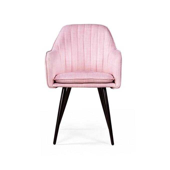 Полукресло Brookline розового цвета