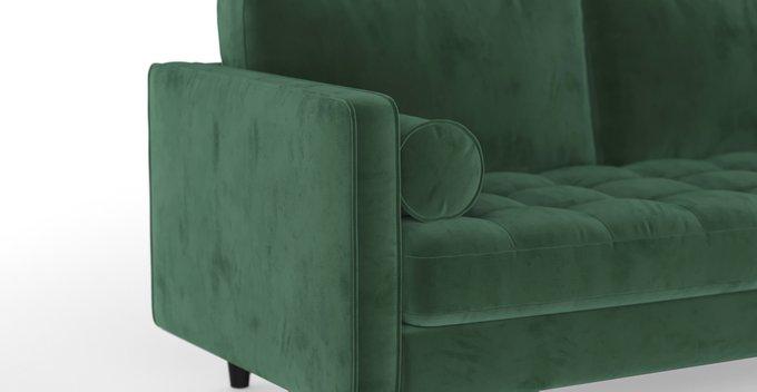 Трехместный диван SCOTT ST зеленый