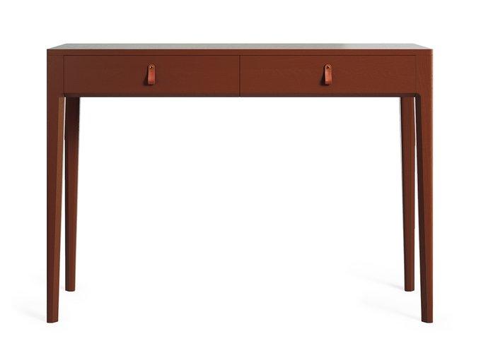 Консольный стол Case коричневого цвета