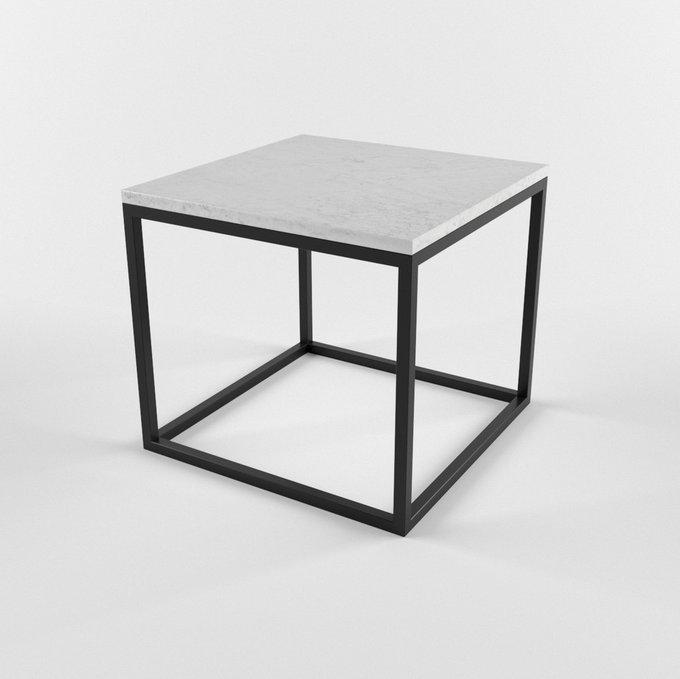 Журнальный столик с мраморной столешницей CUBUS