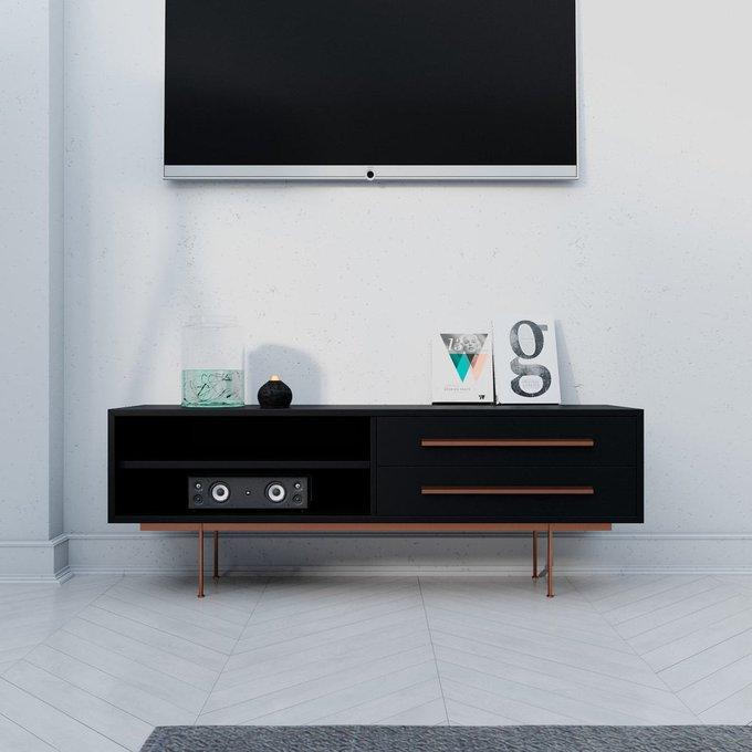 Тумба ТВ Quadro с двумя ящиками