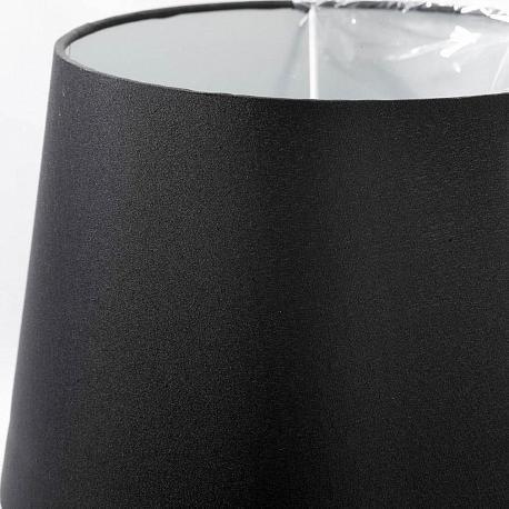 Настольная лампа Lgo черного цвета на квадратном основании