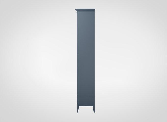 Витрина Manhattan сине-серого цвета