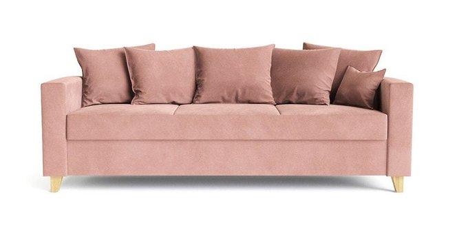 Диван-кровать Эмилио розового цвета
