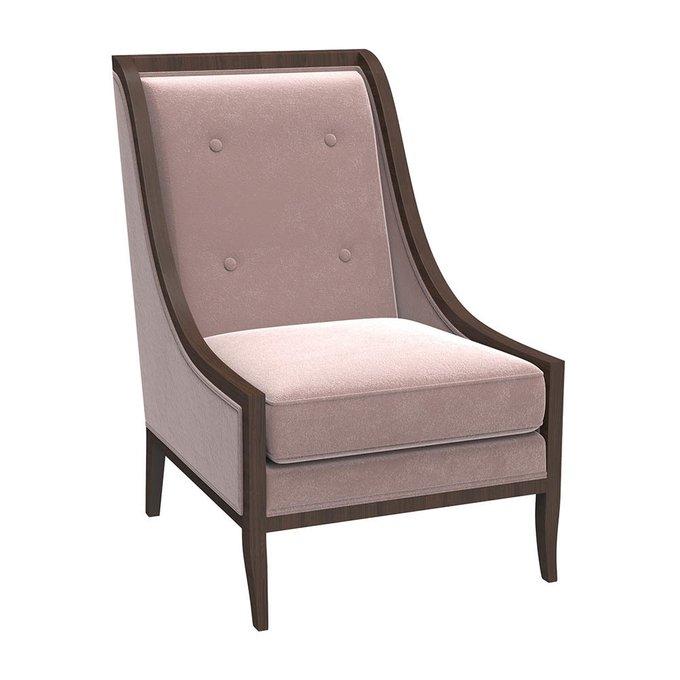 Кресло Модерн Нежное Мерцание розового цвета
