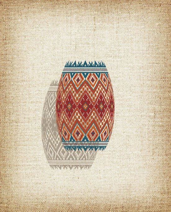 Картина (репродукция, постер): Геометрия цвета №3
