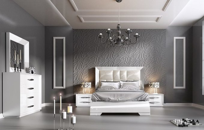 Двухспальная кровать Carmen 160х200