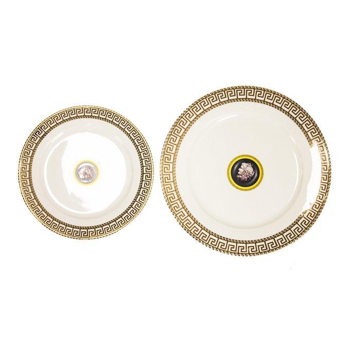Набор из двух тарелок Gurtier из качественного фарфора