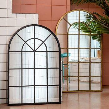 Настенное зеркало Мюнхен черного цвета