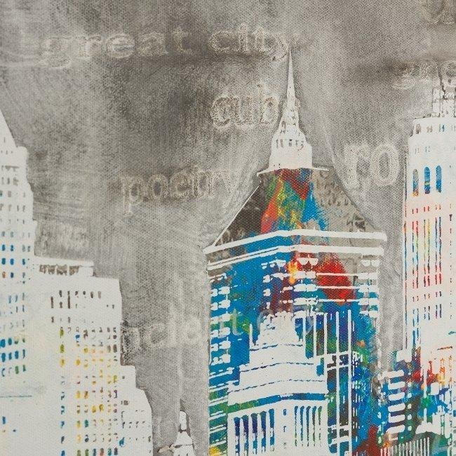 Картина на холсте Город