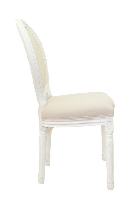 Стул Volker beige+white бежевого цвета